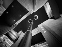 Jens Fersterra黑白城市建築攝