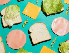 美妙的构图和配�L色:Stephanie Gonot食品静物摄影欣☆赏