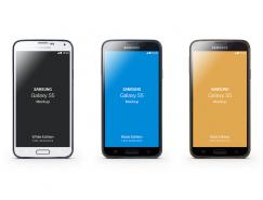 三星galaxy S5手机PSD素材