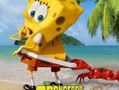 电影海报欣赏: 海绵宝宝:离开了水的海绵