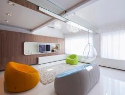 布达佩斯简约唯美的现代Loft住宅设计