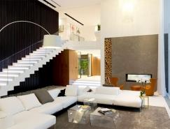 莫斯科郊外豪华优雅的现代别墅设计