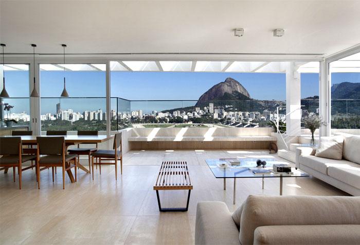 生活资讯_巴西现代豪华的复式顶层豪宅欣赏 - 设计之家