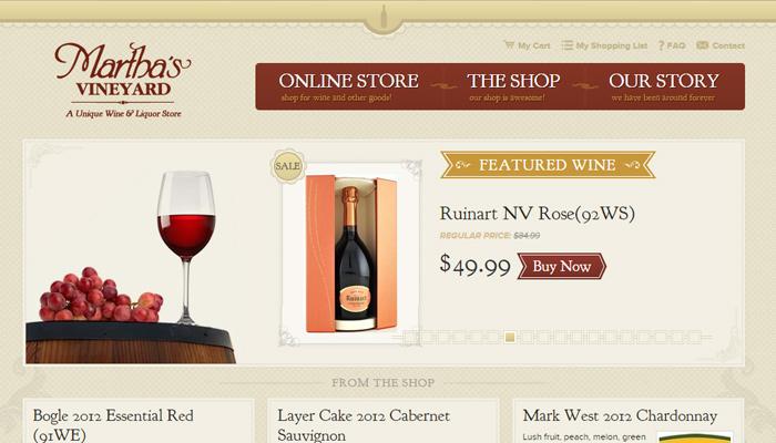 30个葡萄酒和葡萄庄园网站设计欣赏