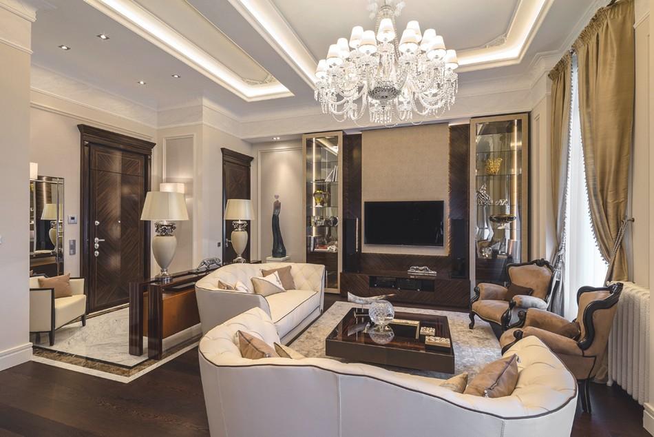 意大利riviera欧式古典风格住宅装修设计图片
