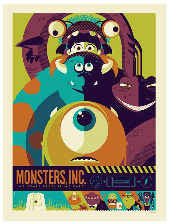 Tom Whalen复古风格插画海报设计欣赏