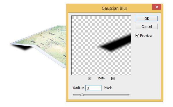 PS中创建3D地图图标