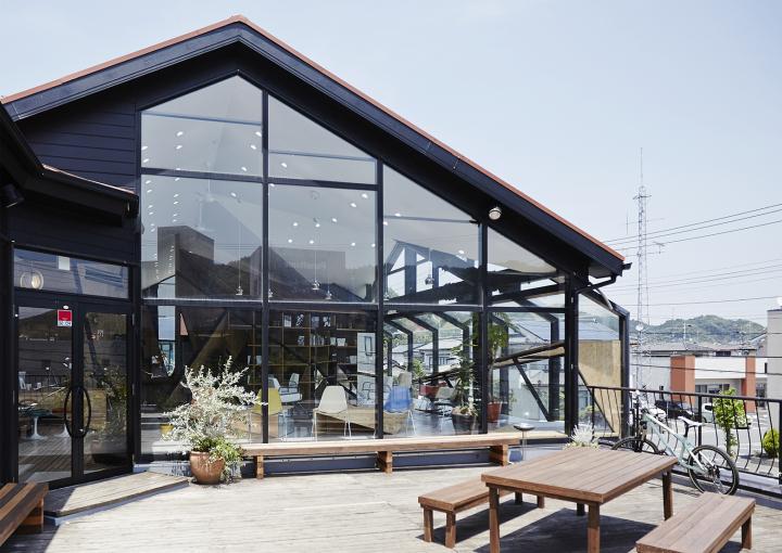 日本磐城Slundre美发沙龙空间设计欣赏