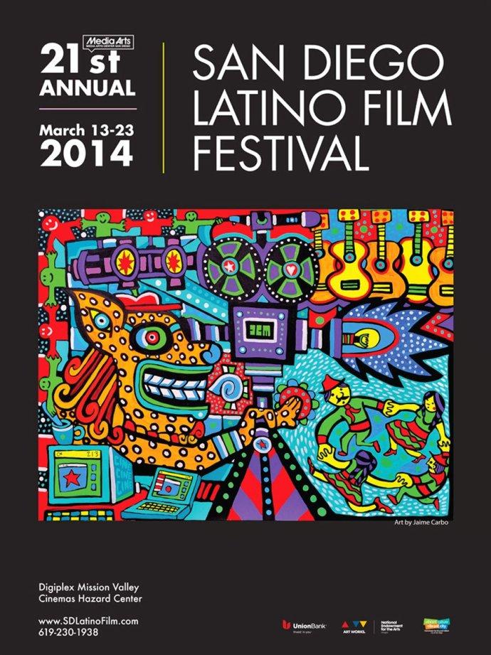 全球资讯_2014年全球各大电影节海报设计(下)(5) - 设计之家