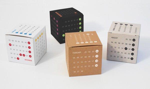 60款2015年日历设计欣赏 3 设计之家