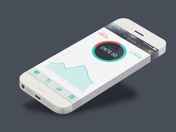 50款金融财经APP应用UI设计欣赏