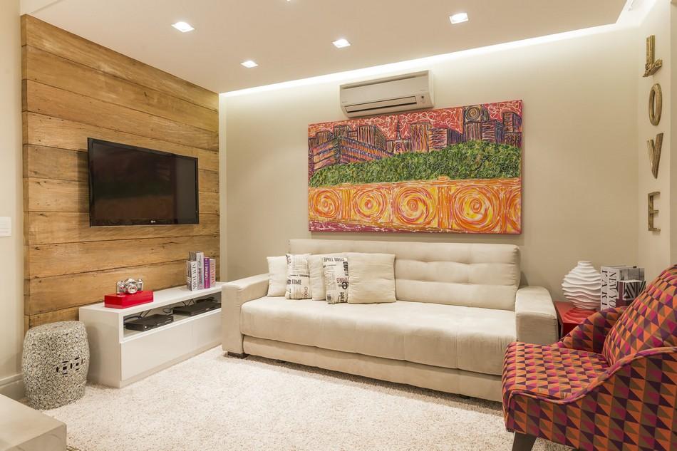 圣保罗Vila Mariana复式小公寓设计