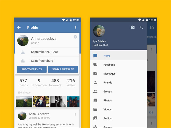 使用Material Design的Android应用UI设计