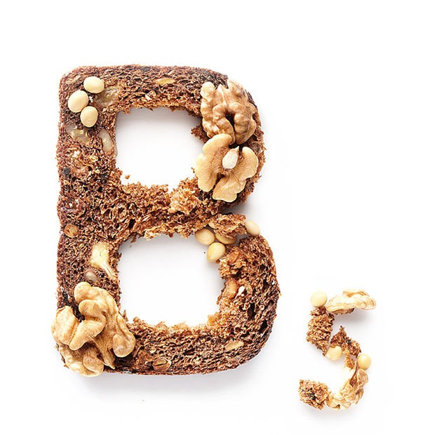 Andy Diak创意食物字母