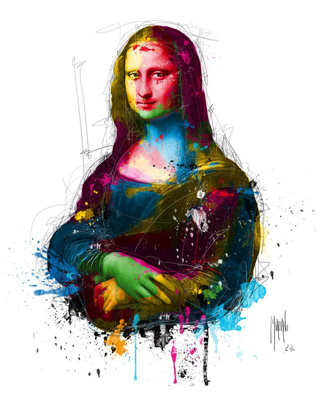 缤纷色彩的碰撞:Patrice Murciano绘画作品欣赏