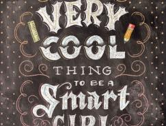 Shauna Lynn创意手绘艺术字体设