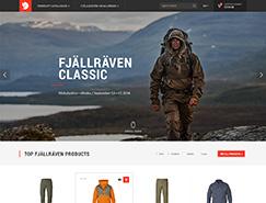 Fjall Raven网站设计