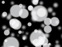 PS画笔及滤镜快速制作梦幻的光斑背景
