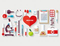 多款医疗工具矢量素材