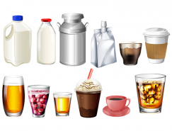 食品包装元素矢量素材(1)