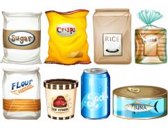 食品包装元素矢量素材(2)