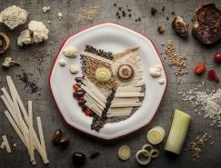 Anna Keville Joyce创意食物艺术