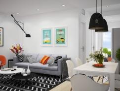 北欧风格白色公寓亚洲城最新网址