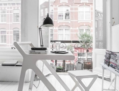 Rafa-kids:簡潔創意的K書桌和X椅子