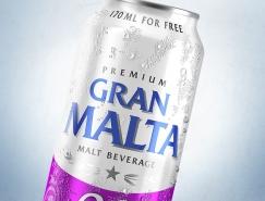 Gran Malta饮料包装设计