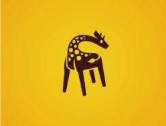 标志设计元素运用实例:长颈鹿(二)
