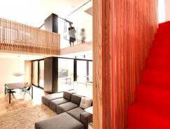 加拿大蒙特利尔De Gasp温馨的住宅设计