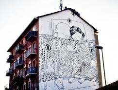 意大利艺术家Millo街头壁画作