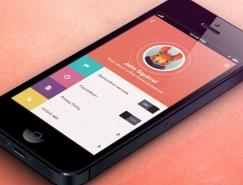 20个色彩丰富的手机应用UI设计欣赏