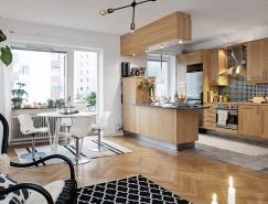 瑞典现代简约的小公寓设计