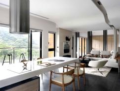 台湾优雅时尚的私人住宅设计