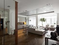 5个简约而豪华的公寓设计欣赏