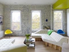 紐約清新的70平米小公寓設計