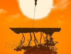 Janee Meadows电影海报插画欣赏