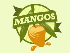 标志设计元素运用实例:芒果