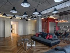 圣彼得堡温暖的工业风格Loft设计