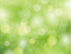 绿色光晕虚化背景矢量素材