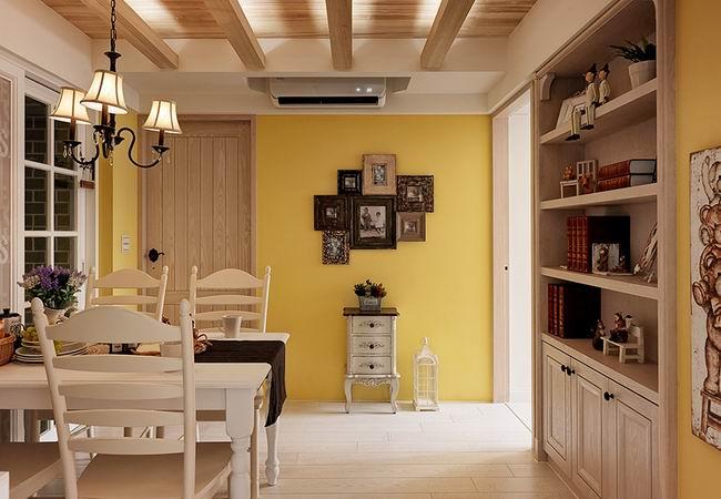 舒适美式乡村风格公寓设计