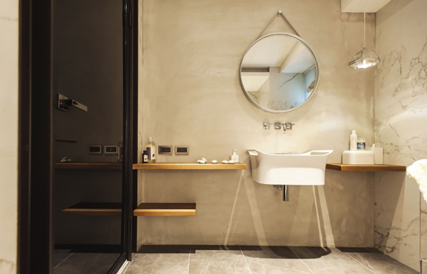 房屋的极简个性风室内设计师a房屋的家六层住宅工业设计图图片