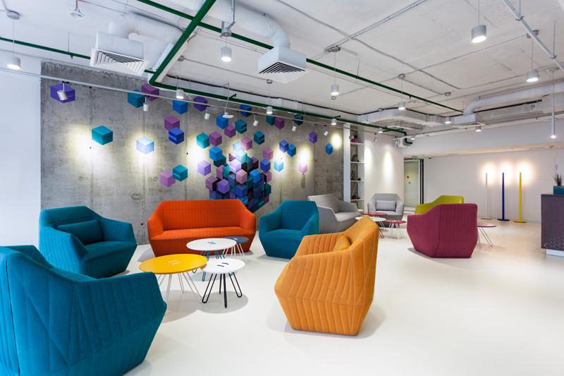 全球资讯_在线游戏公司Playtech办公空间设计 - 设计之家
