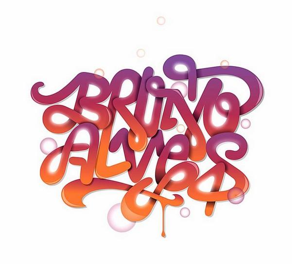 25个精巧的创意字体设计