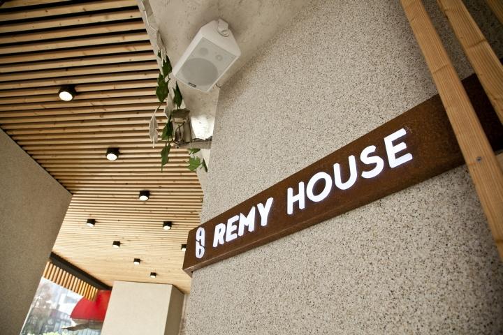 台中Remy House面包店室内设计