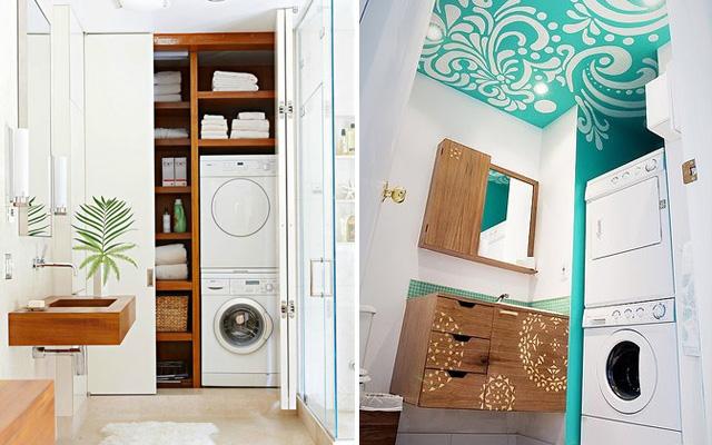 14个浴室洗衣机房设计欣赏