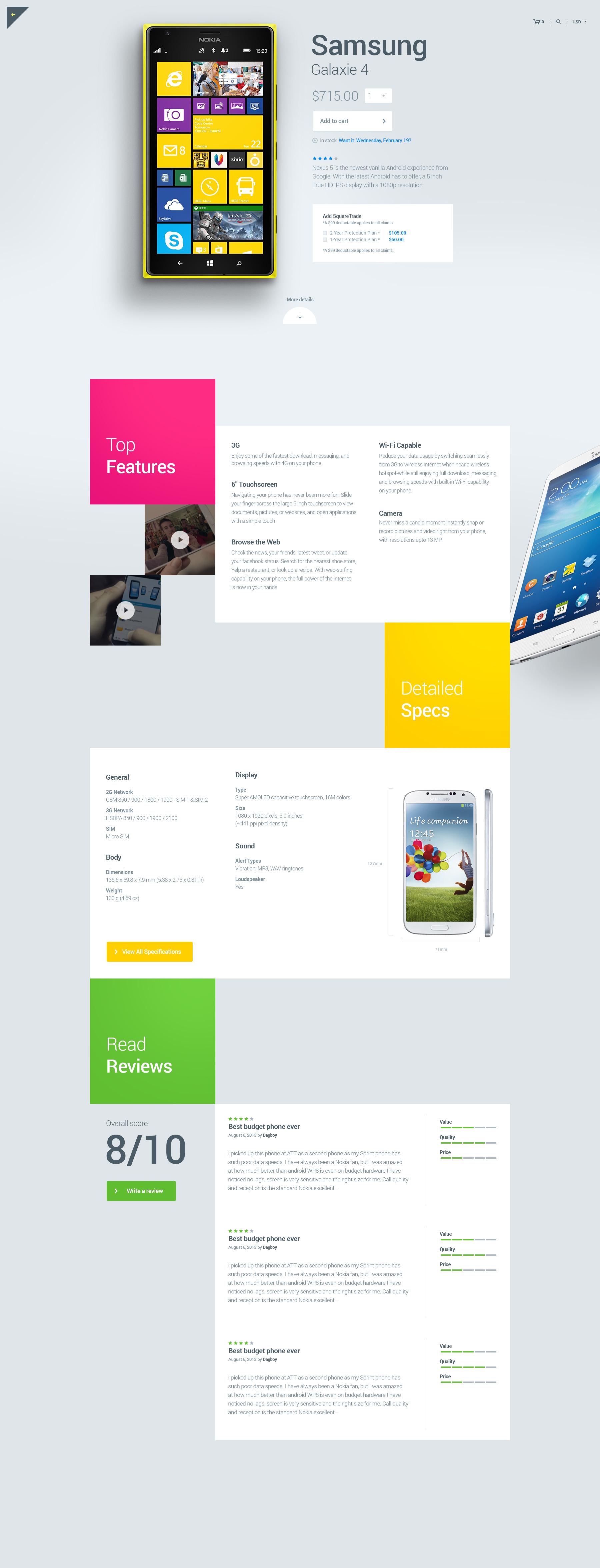 Julien Renvoye UI界面设计