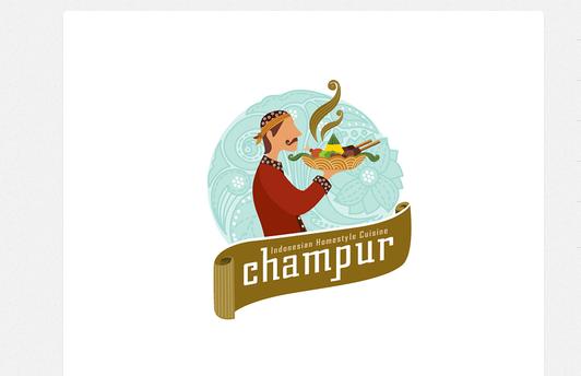 19款食品和饮料主题logo设计
