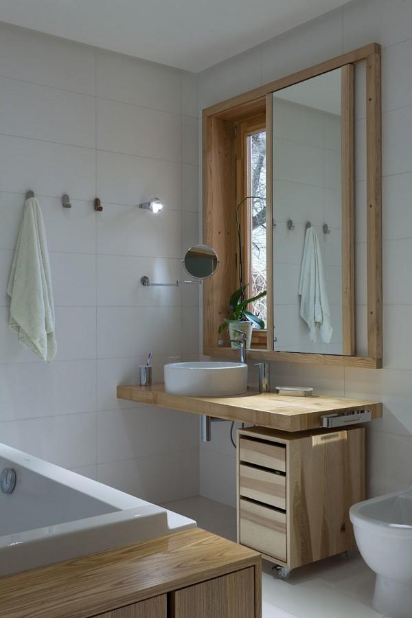 天然实木散发迷人的温暖:自然唯美住宅设计